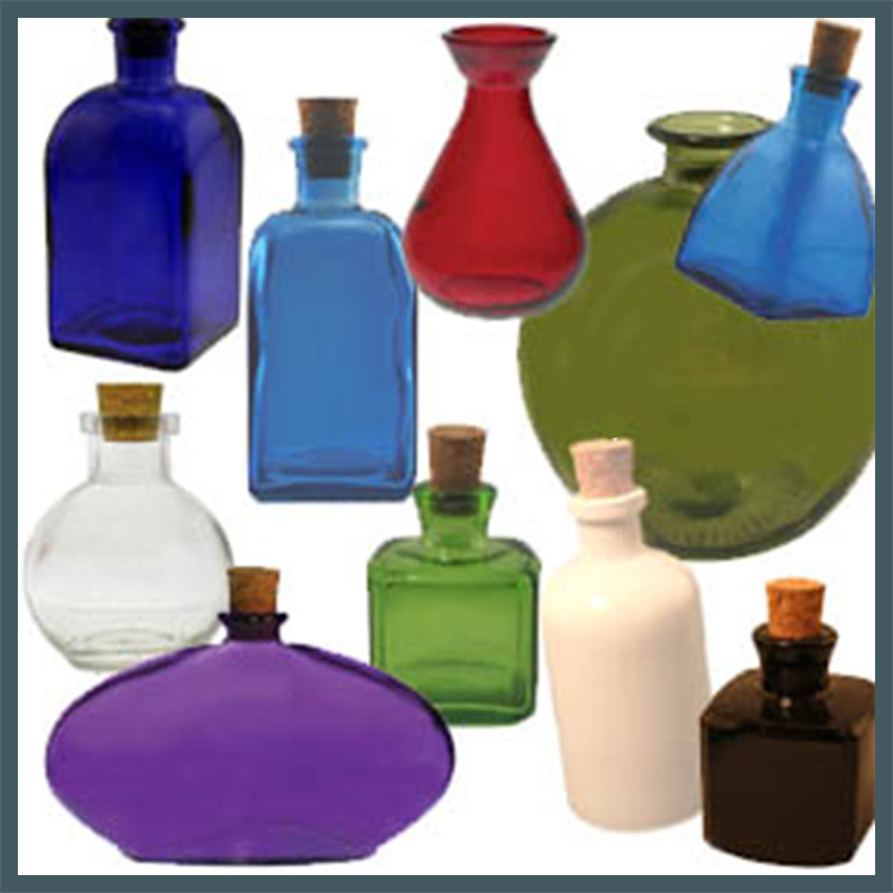 recycled reed diffuser glass bottles vases