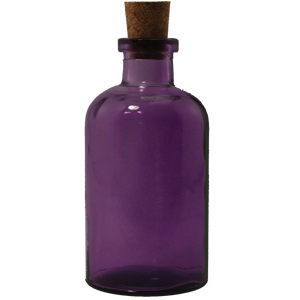 8 oz Purple Apothecary Reed Diffuser Bottle