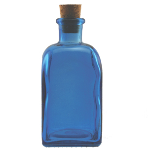 8.5 oz Blueberry Rectangle Reed Diffuser Bottle