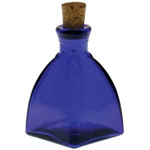 Cobalt blue reed diffuser bottle
